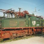 August 1994 Fahrleitungsmessung