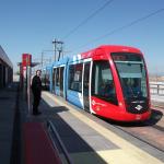 März 2012 Fahrleitungs- und Gleismessung